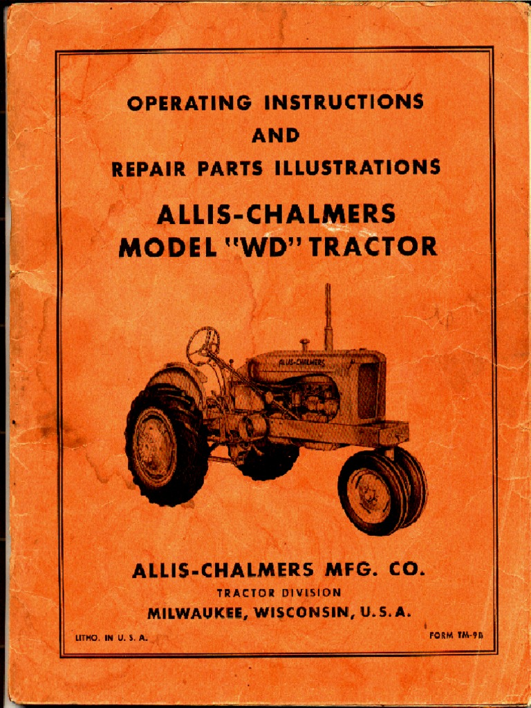 wiring diagram for allis chalmers 190 tractor allis