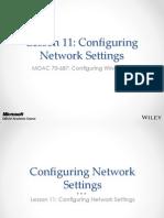 MOAC 70-687 L11 Network Wireless Settings