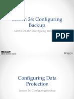 MOAC 70-687 L24 Backups