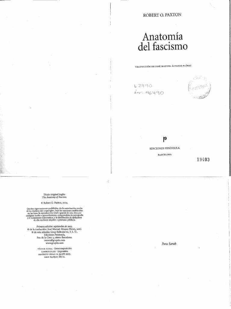 Paxton,Robert O._Anatomía del Fascismo (Capítulos 3, 4 y 5).pdf