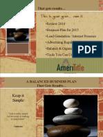 Balanced Business Plan - 2015