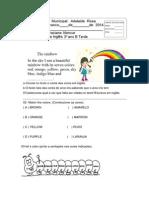 1ª prova de ingles 3 ano.pdf