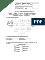 1ª prova de ingles 4 ano.pdf