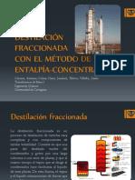 destilacion fraccionada por el metodo de entalpia-concentracion.pptx