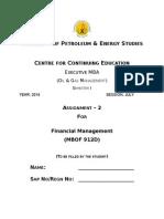 A- 2 Financial Management