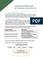 Chapitre 1 - Objectif fondamentaux d'une  base de données, conception de base.docx