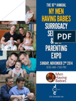 The 10th Annual NY Men Having Babies Surrogacy Seminar & Gay Parenting Expo - at the JCC in Manhattan