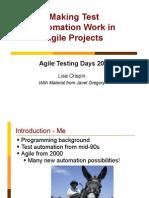 Agile Td Automation