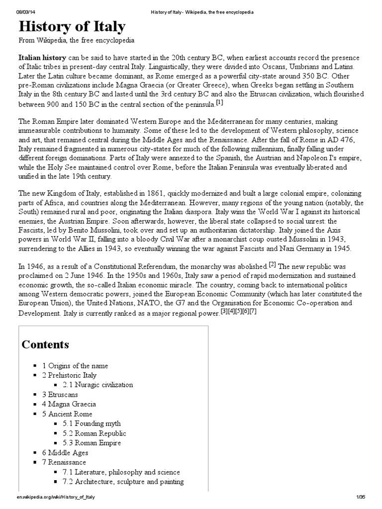 ITA His 0 COMPLETO pdf   Mark Antony   Etruscan Civilization