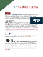 EAA Ch 237 Auction Items List