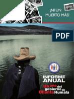 Informe Anual CNDDHH 2011 - 2012