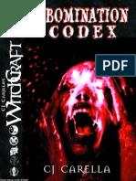 WitchCraft RPG - Abomination Codex.pdf
