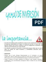 Grado de Inversion exposicion.ppt