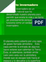 Geociencia - Efecto invernadero y lluvia acida.pptx