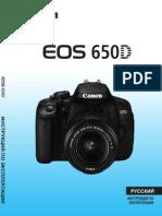 EOS 650D Instruction Manual RU
