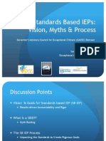 Standards Based IEPs