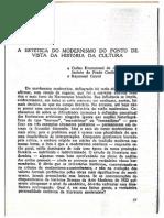 A estética do modernismo do ponto de vista da história da cultura - José Guilherme Merquior.pdf