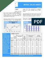 August 2014 Retail Sales Publication