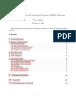 Summary Dynamics & Control