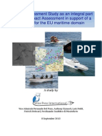 EU Wise Pens 2013 CISE Risk Assessment Study