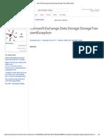 Buzon. en Cuarentena Microsoft.exchange.data.Storage