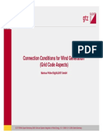 2009_Connection Conditions for Wind Generation