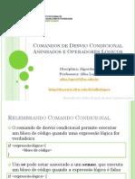 Aula 06 - Comando de Desvio Condicional Aninhados e Operadores Logicos (1).pdf