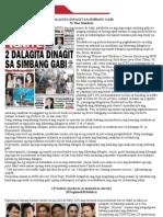 2 Dalagita Dinagit Sa Simbang Gabi