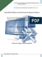 errores mas comunes posteriores al ensamble y M. P. de una  pc.pdf