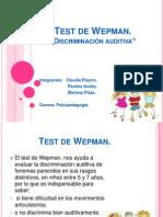 TEST DE WEPMAN.ppt