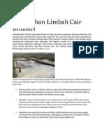 Standar dan Prinsip Pengolahan Limbah Cair Industri.docx