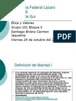 Presentacion Etica y Valores ll parcial.ppt