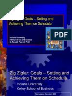 Zig Ziglar Goals