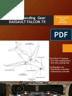 Aircraft  Landing  GearDASSAULT FALCON 7X