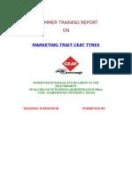 47391219 Ceat Tyres Mrkt Marketing Project Report