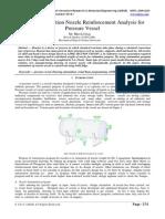IJIRAE::Design Automation Nozzle Reinforcement Analysis for Pressure Vessel