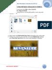PHOTOSHOP PROJECT tutorial.docx