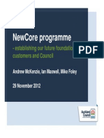 Auckland Council New Core Pogram