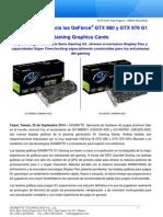 GIGABYTE anuncia las GeForce® GTX 980 y GTX 970 G1 Gaming Graphics Cards.docx