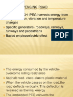 Energy Scavenging Road