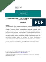 Seeteram Neelu - A dynamica panel data analysis of the immigration and tourism nexus.pdf