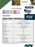 ADV 3036 Sony IR Camera