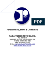 Pentrmeter Specification