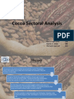 Cocoa Sector Analysis Ver 2.0