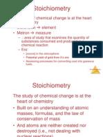Konsep Mol dan Stokiometri