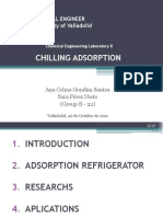 Chilling Adsorption Refrigeration Technologies Research Topics