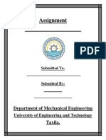 Assignments Title Page