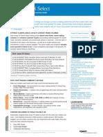 Dj FX Select Factsheet