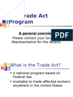 Trade Act Oregon