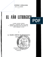 El año litúrgico - Dom Gueramger